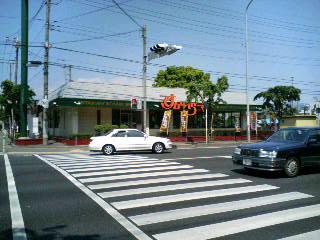 バス停付近