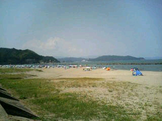 由良浜海水浴場
