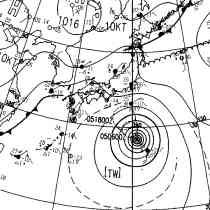 台風9号(フィートウ)