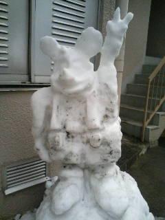 鼠雪だるま