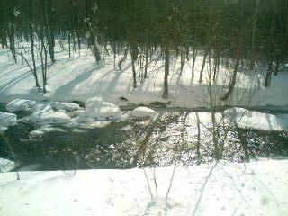 雪原の流れ