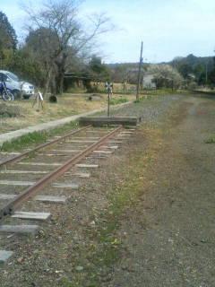 行き止まりの線路
