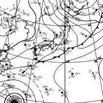 冬型の天気図