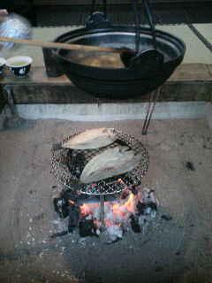 東北の旅6 囲炉裏ご飯