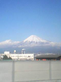 今日の富士山(12/28)