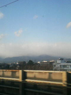 関ヶ原方面雪?
