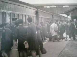 昔の亀岡駅