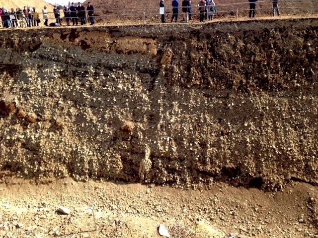 立川断層のつづき