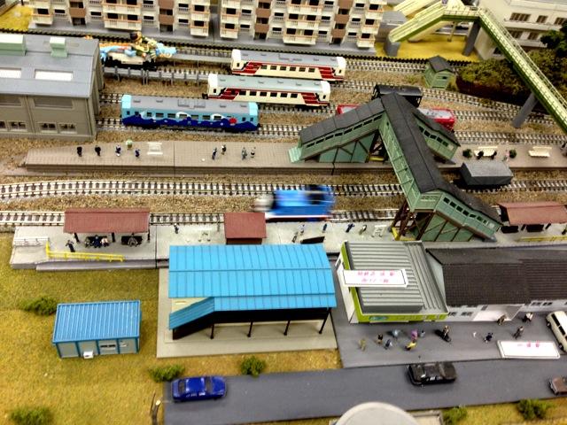 ジオラマカフェ 釜石駅