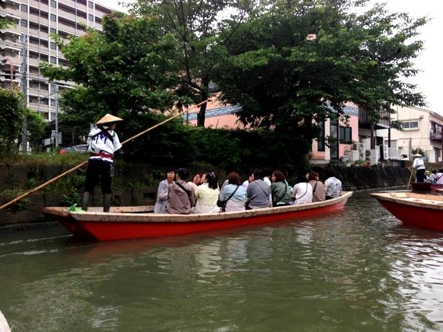 柳川船下り