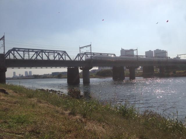 多摩川(武蔵小杉付近)
